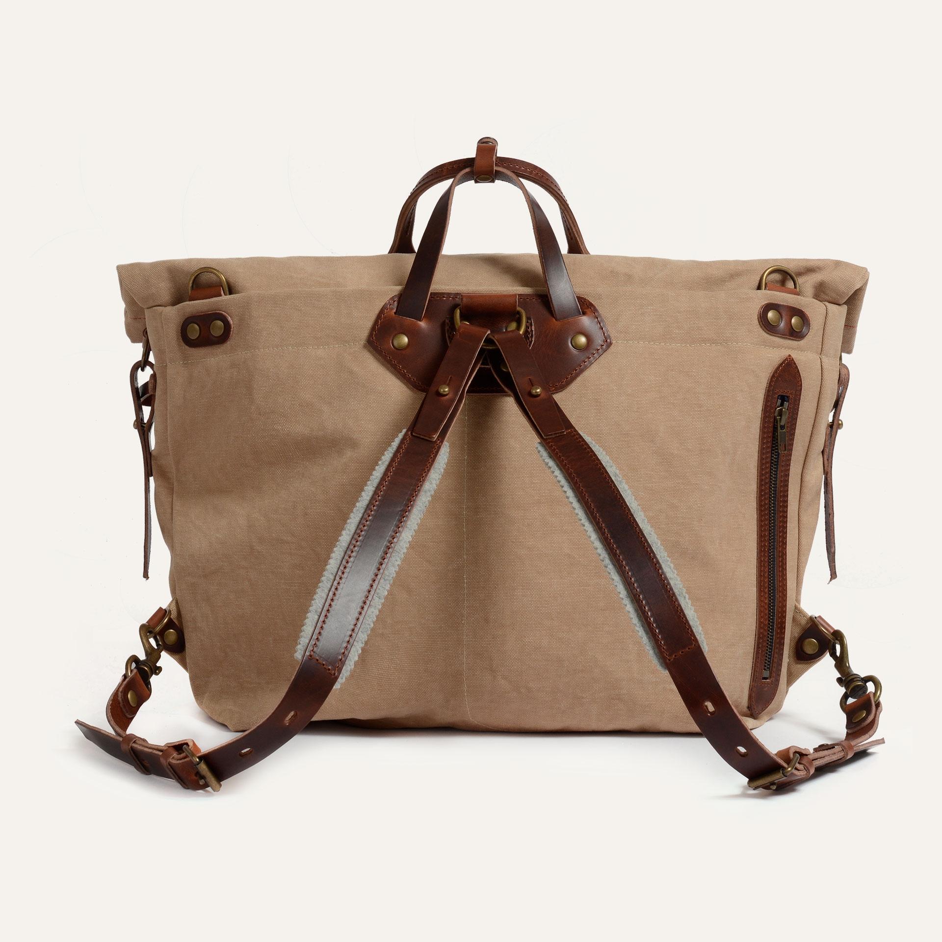 Woody L Backpack - Wheat  (image n°3)
