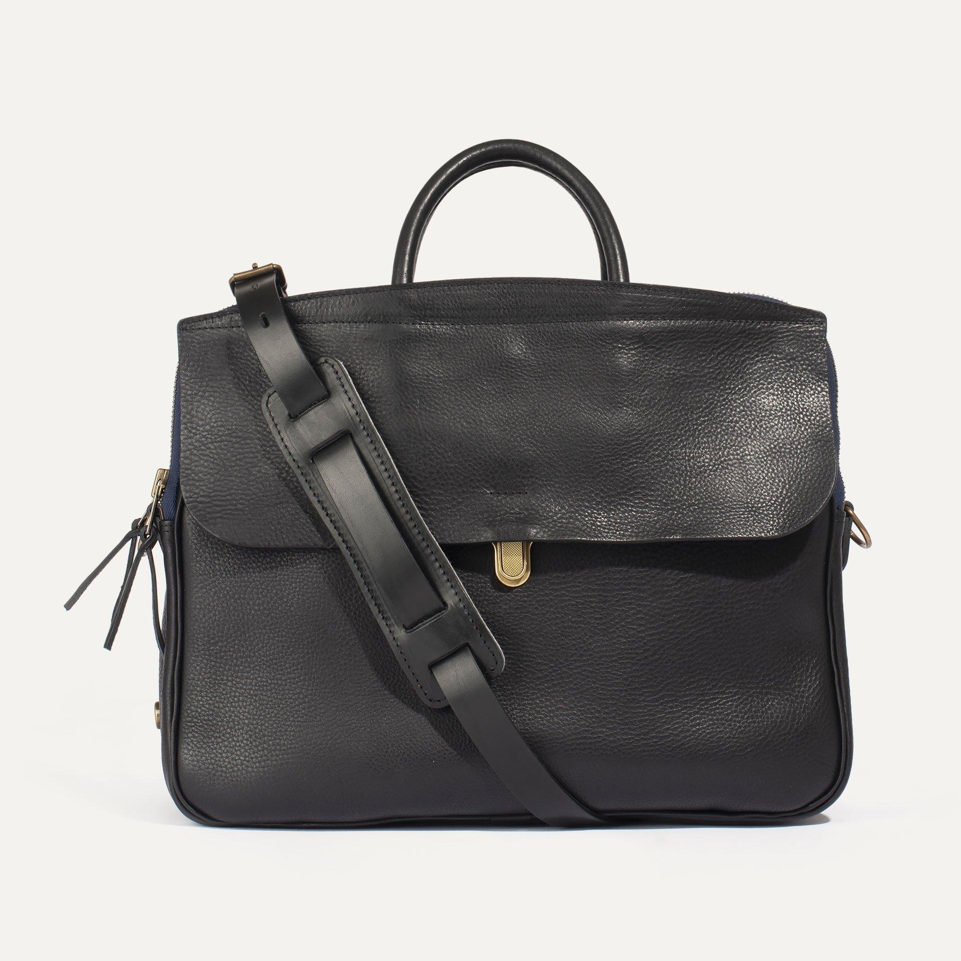 Zeppo Business bag - Black / E Pure (image n°1)