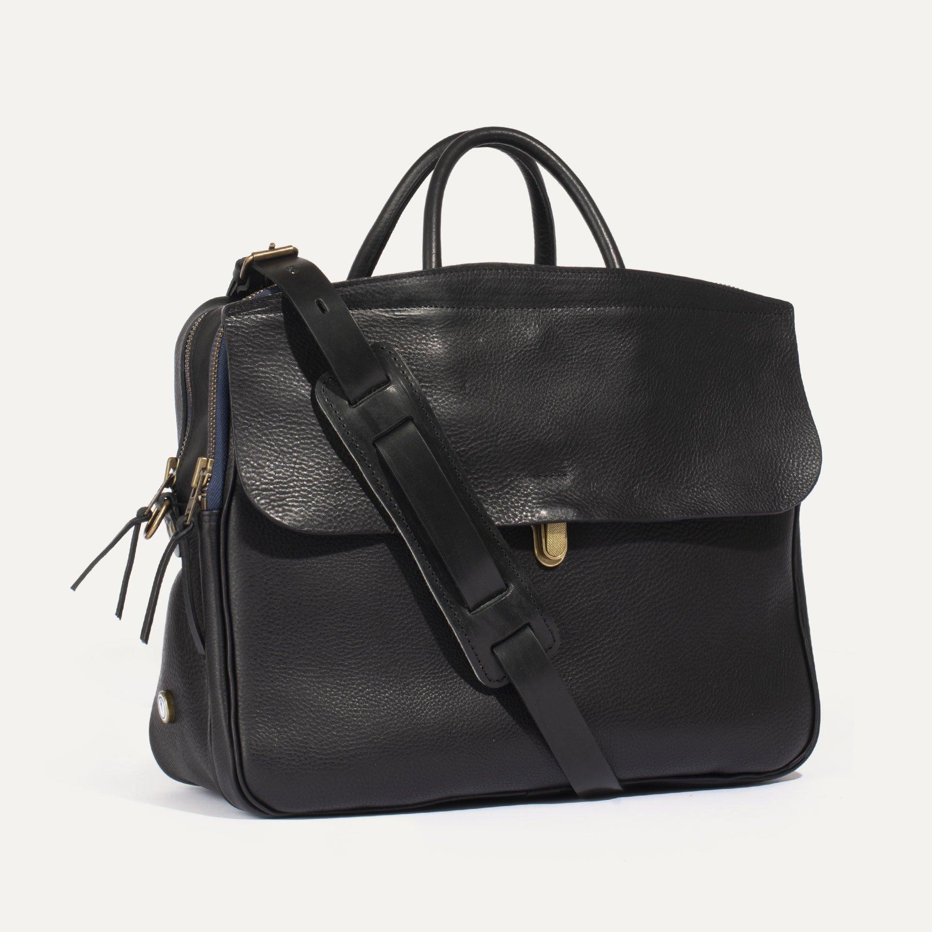 Zeppo Business bag - Black / E Pure (image n°2)