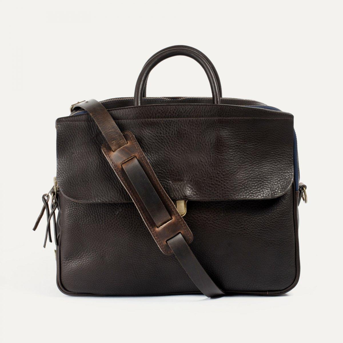 Zeppo Business bag - Dark Brown / E Pure (image n°1)