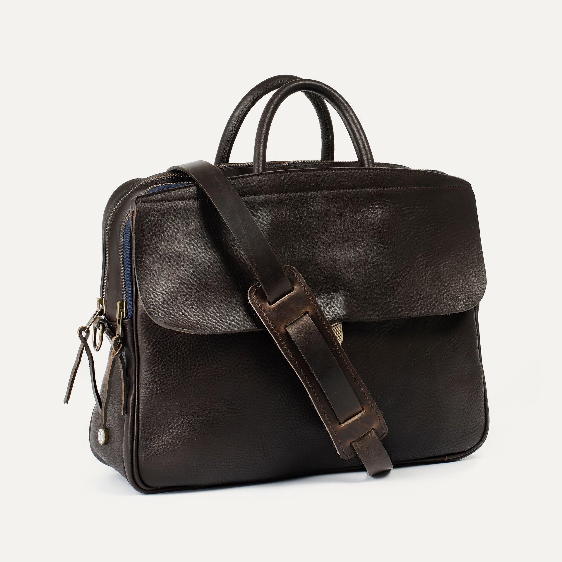Zeppo Business bag - Dark Brown / E Pure (image n°2)