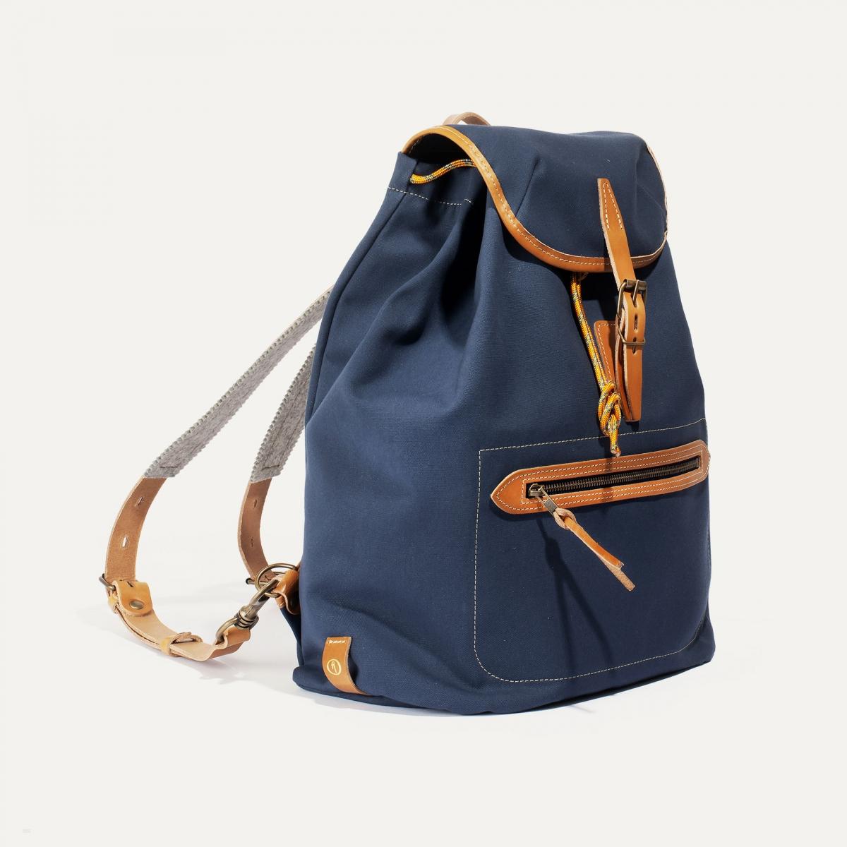 Camp backpack - Marine Blue (image n°2)