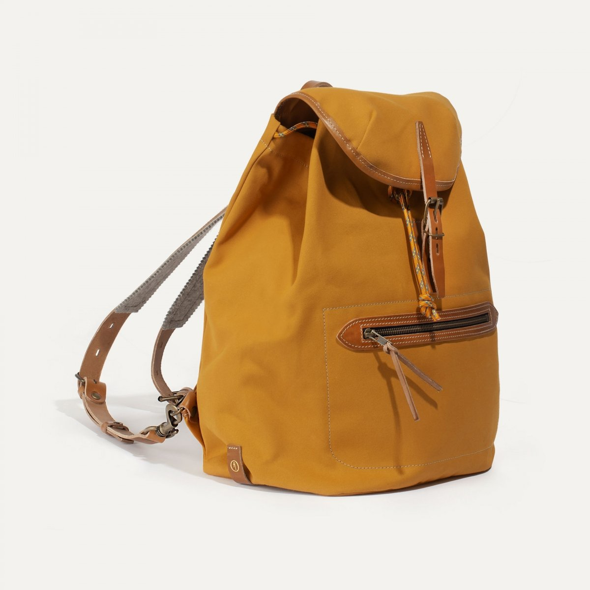 Camp backpack - Yellow ochre (image n°2)