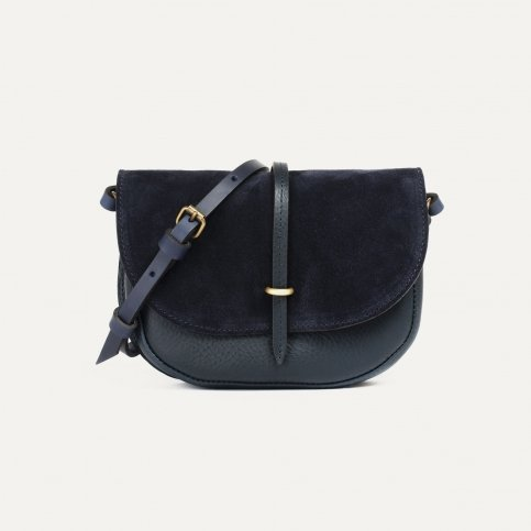 Java mini Postman bag - Marine Blue