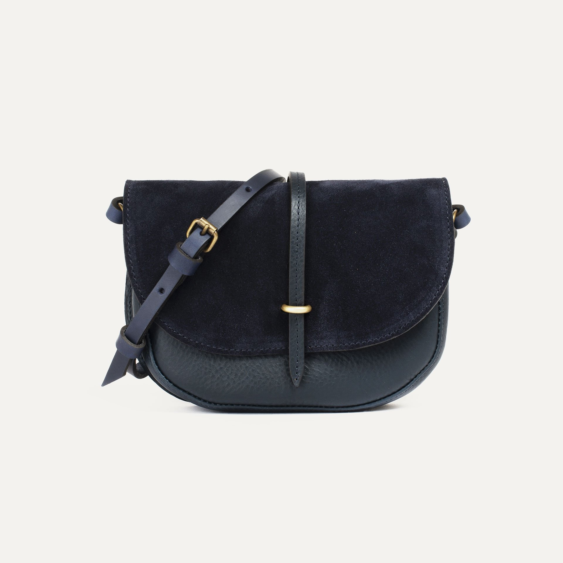 Java mini Postman bag - Marine Blue / Mix (image n°1)