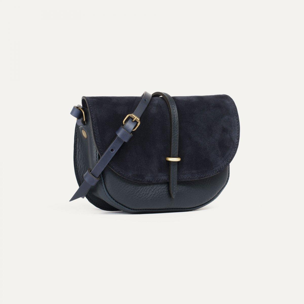 Mini sac postier Java - Marin / Mix (image n°2)
