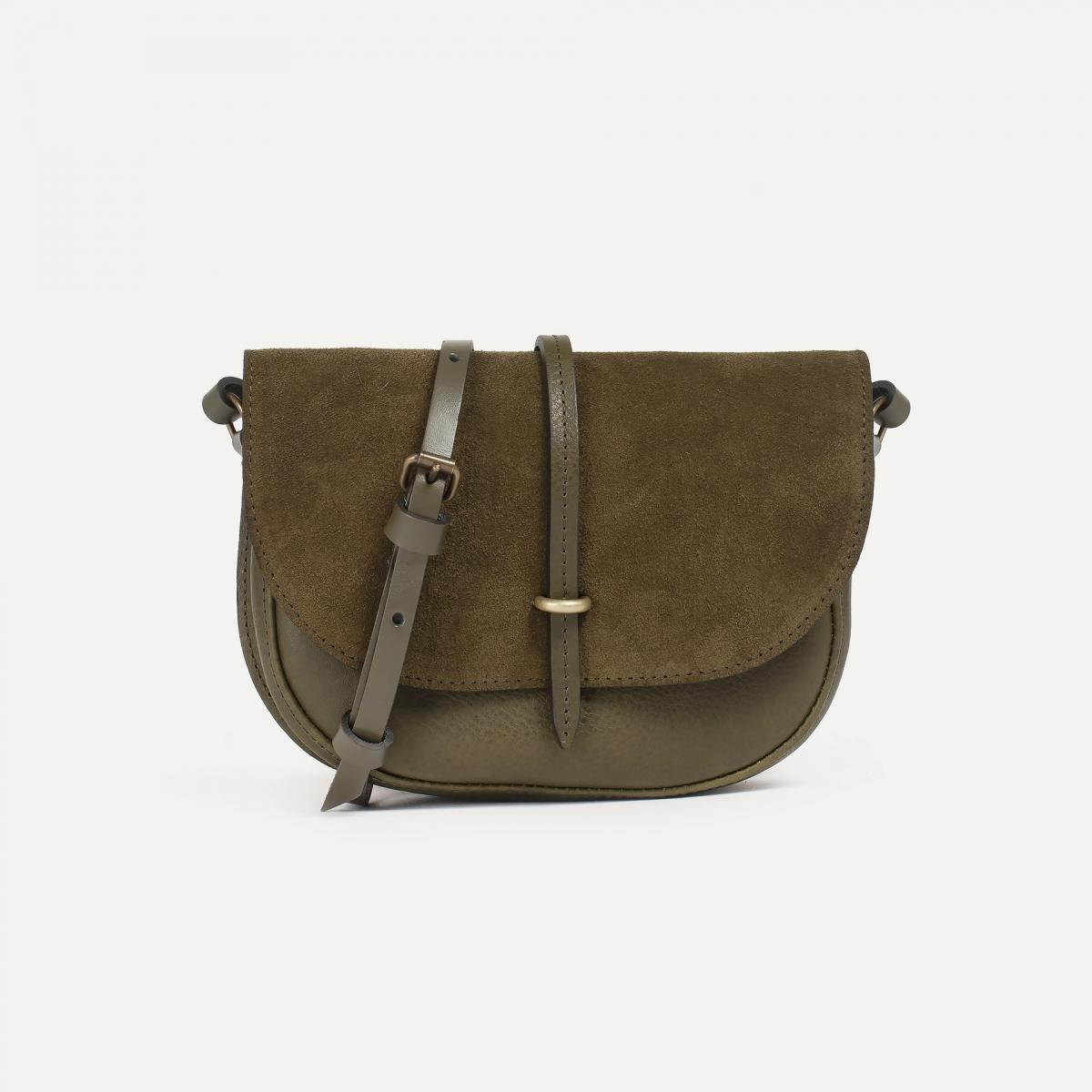 Java mini Postman bag - Khaki / Mix (image n°1)