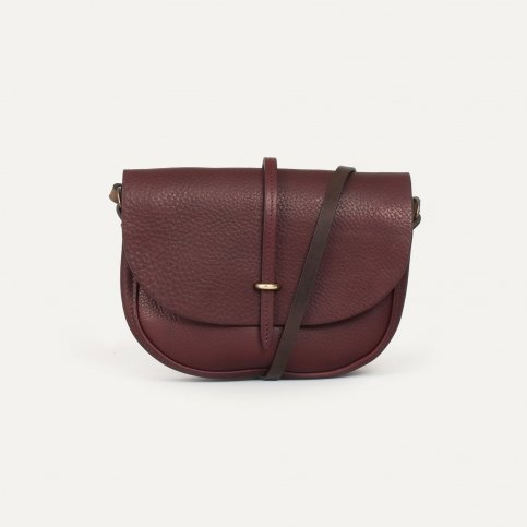 Java mini Postman bag - Peat