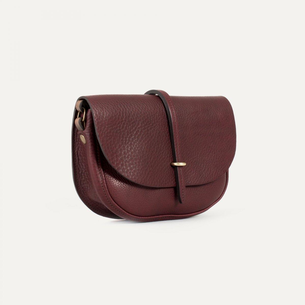 Mini sac postier Java - Tourbe (image n°2)