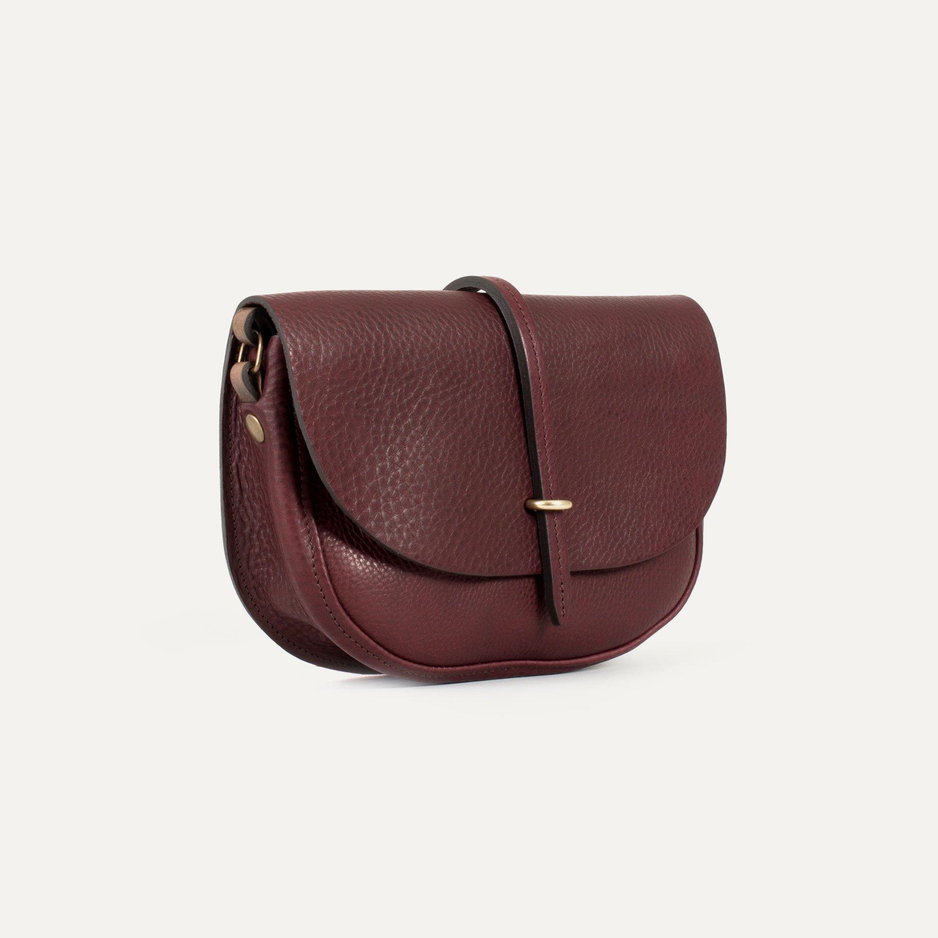 Java mini Postman bag - Peat (image n°2)