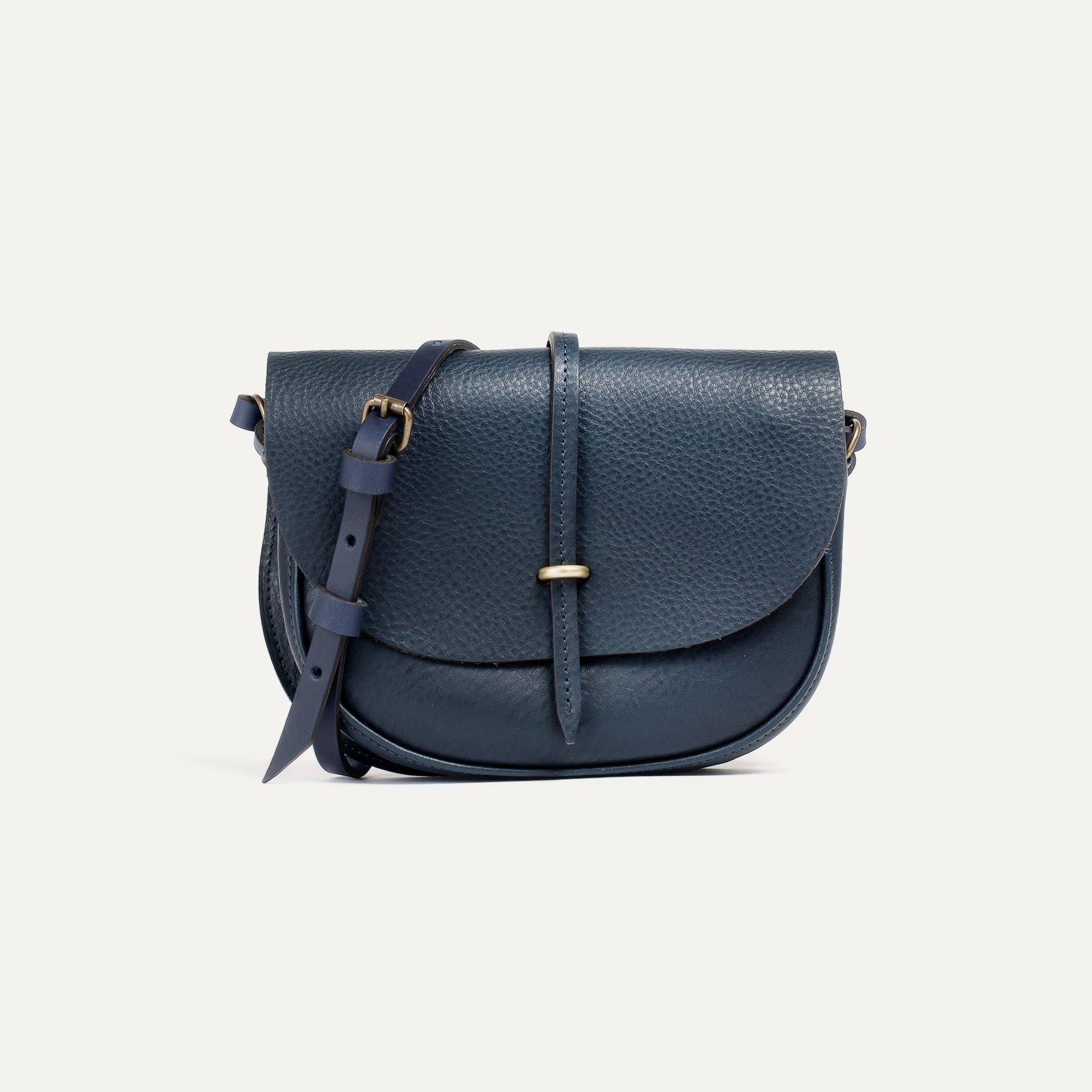 Java mini Postman bag - Navy Blue (image n°1)