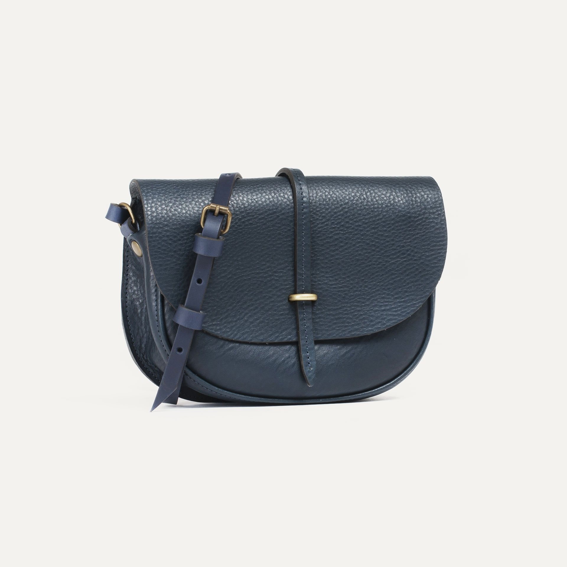 Java mini Postman bag - Navy Blue (image n°2)