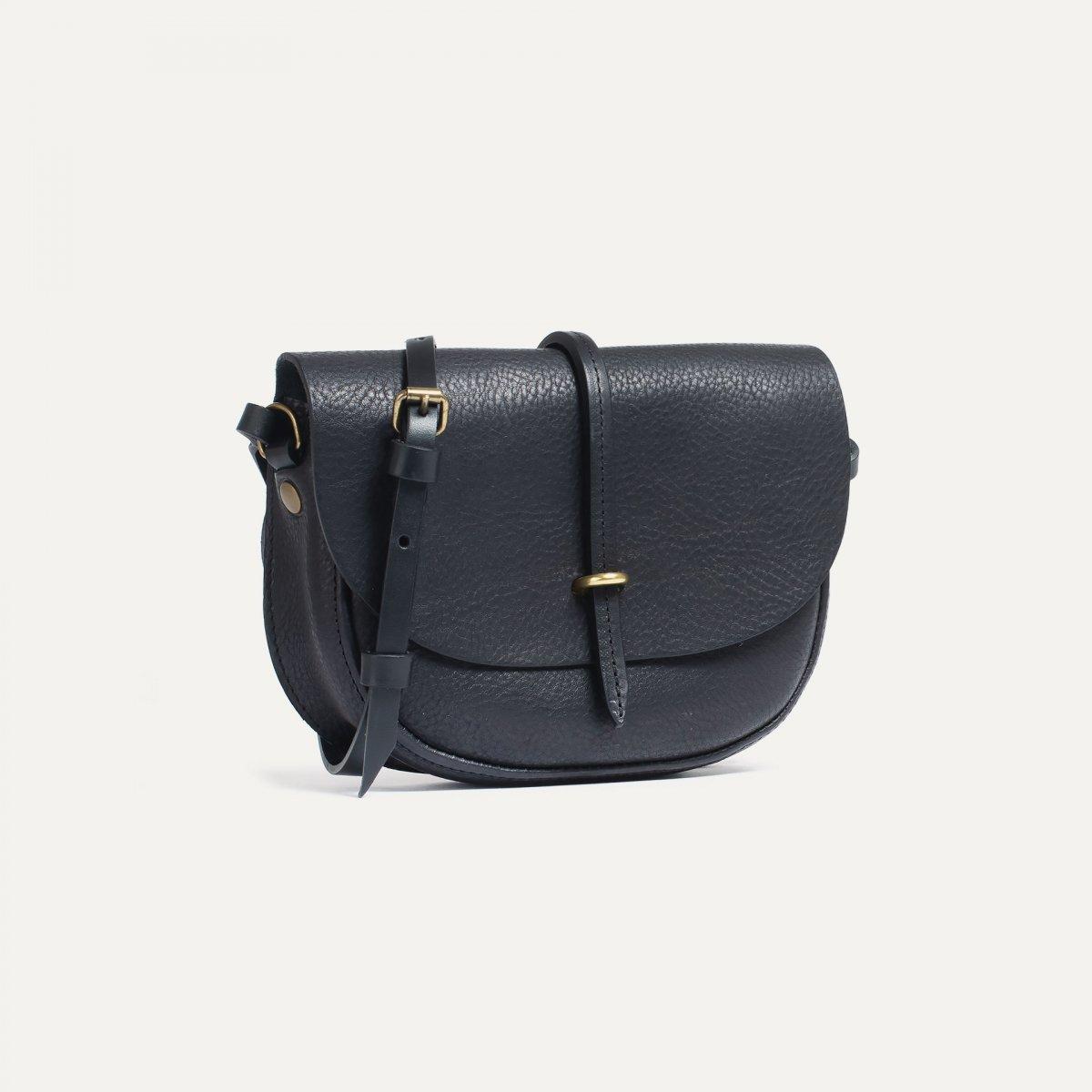 Mini sac postier Java - Noir (image n°2)
