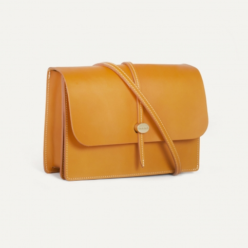 Jordi Clutch bag - Honey Natural