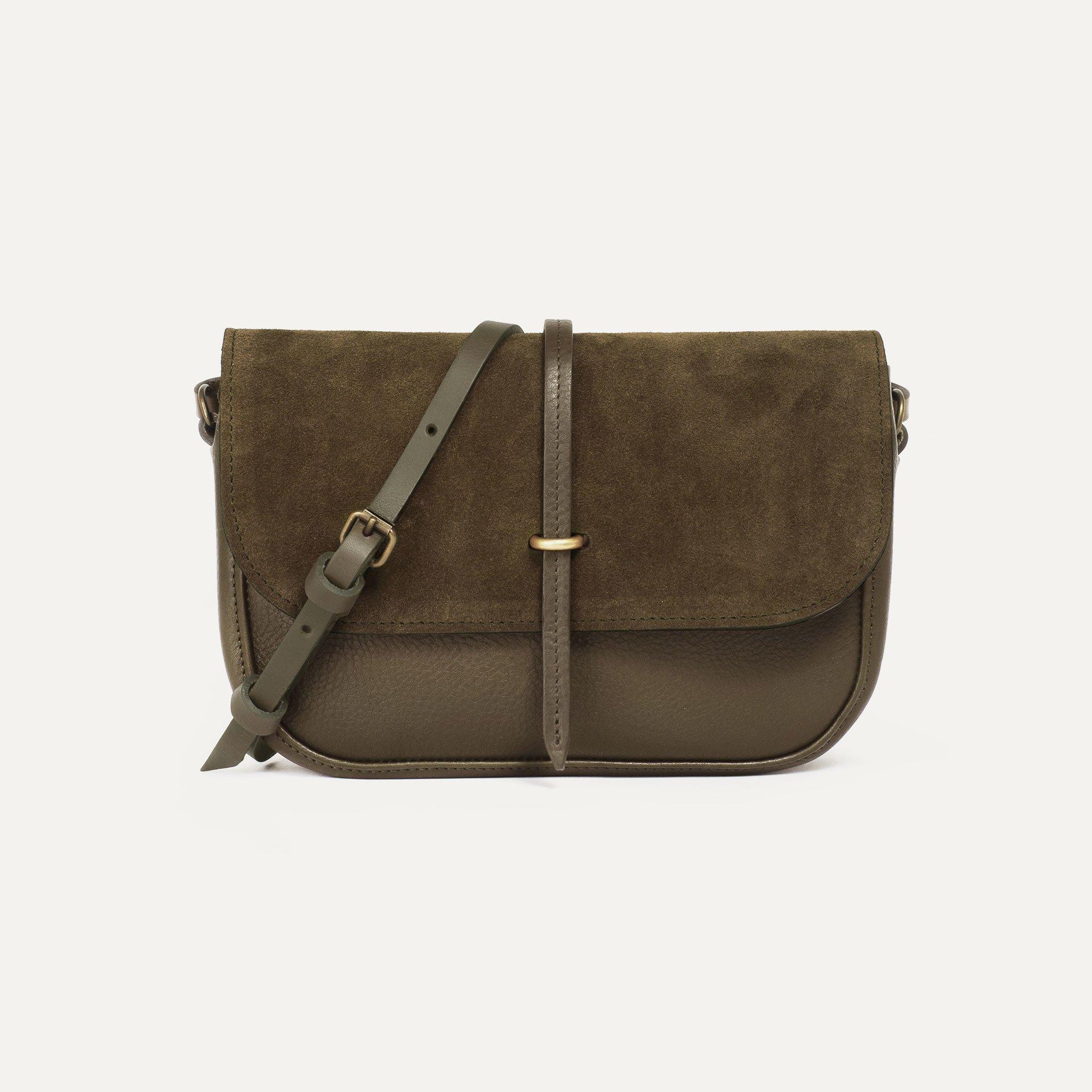 Pastis handbag - Khaki / Mix (image n°1)