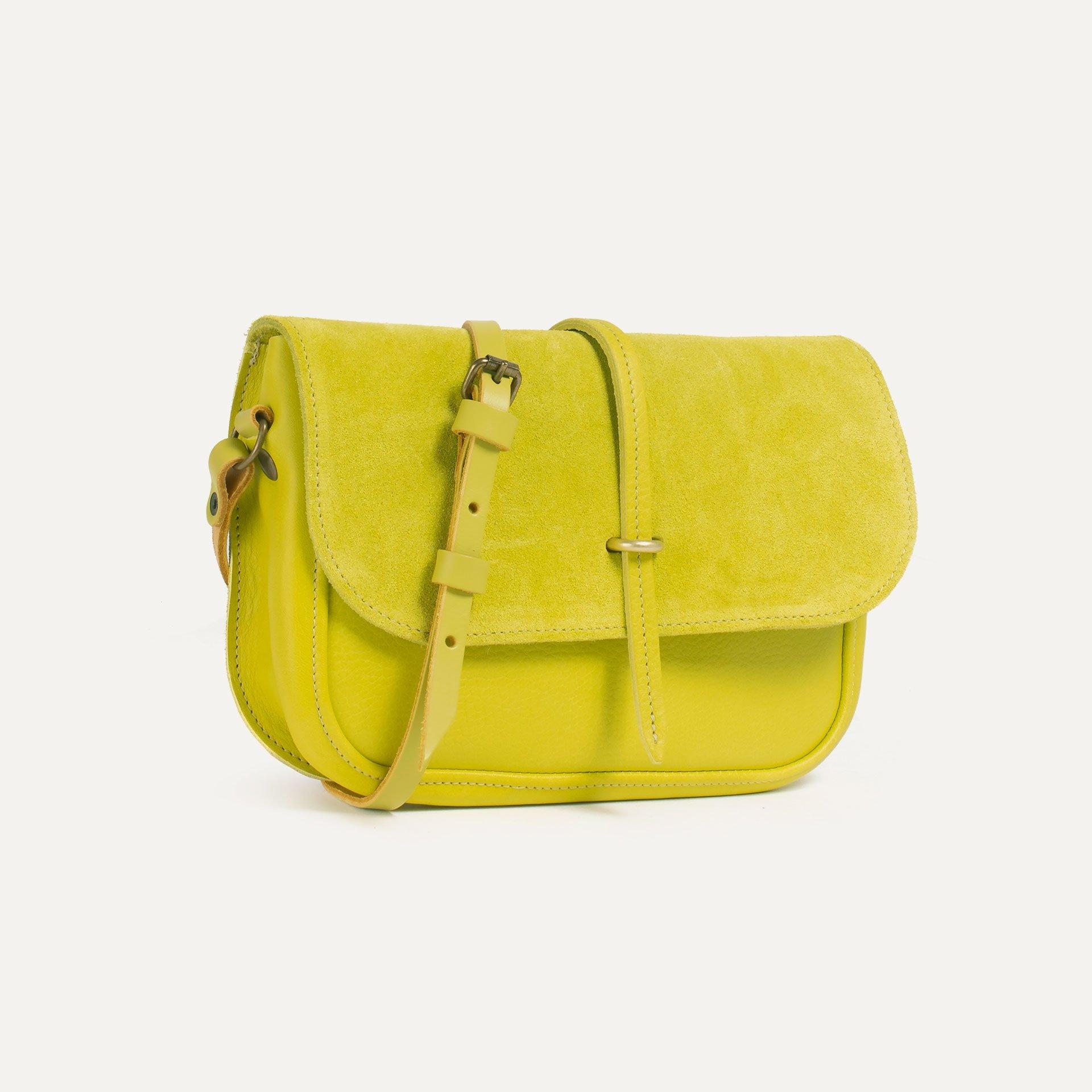 Pastis handbag - Bergamot / Mix (image n°2)