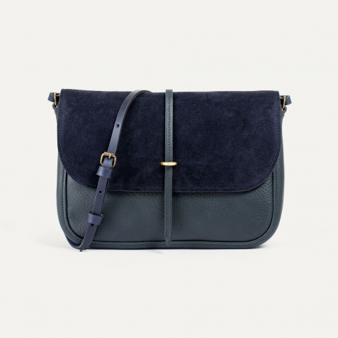 Pastel handbag - Marine Blue / Mix