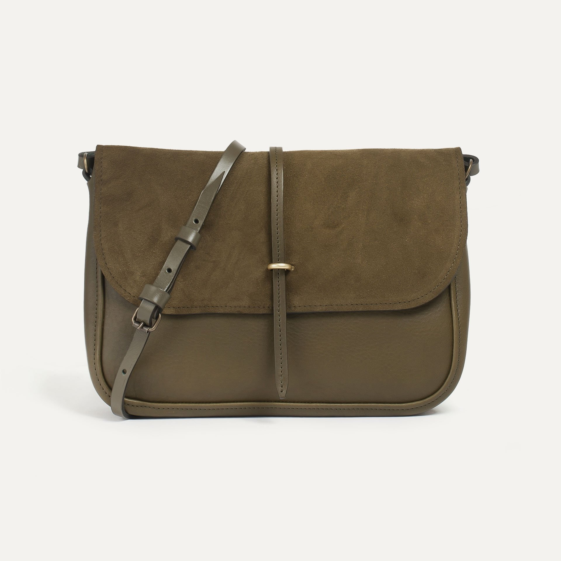 Pastel handbag - Khaki / Mix (image n°1)