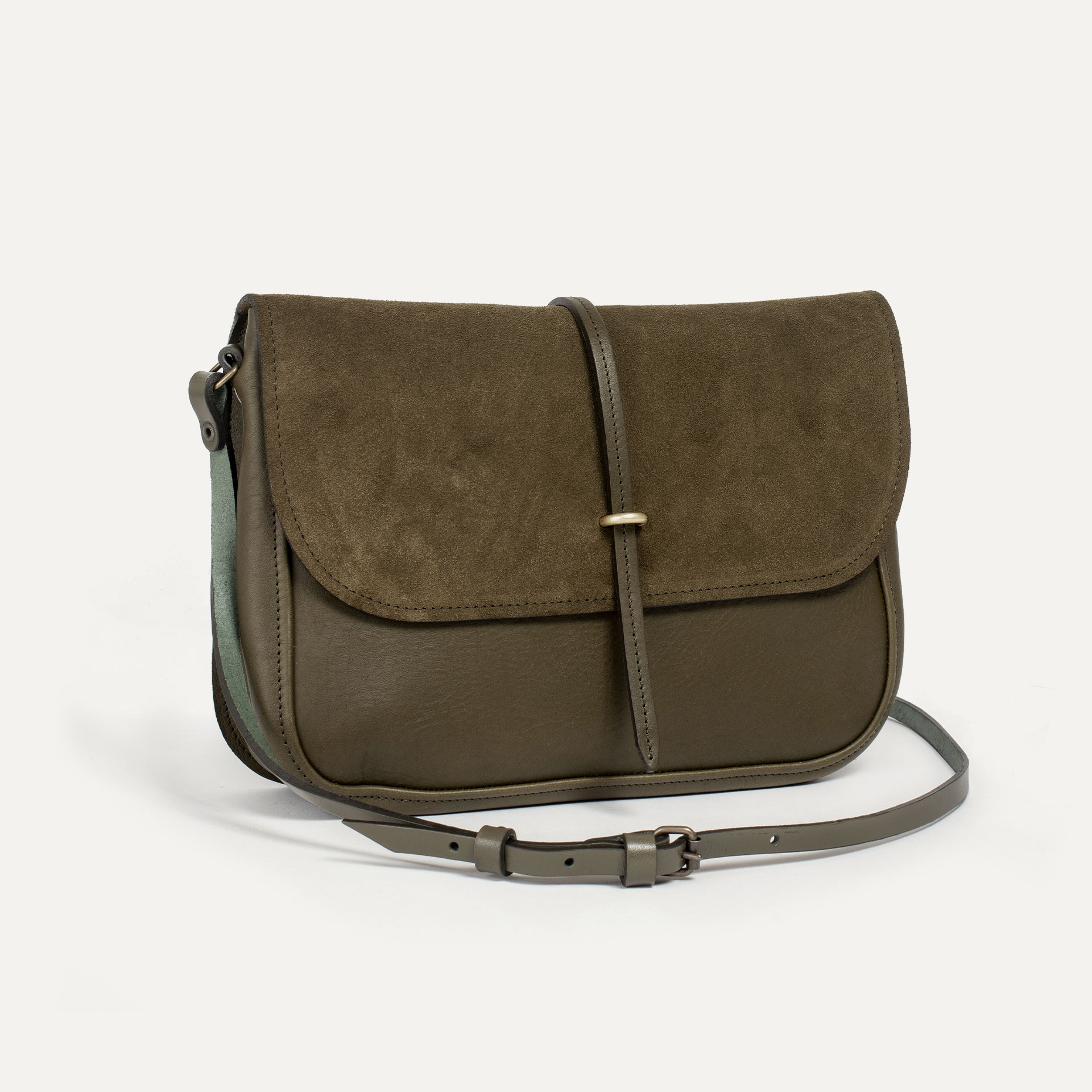 Pastel handbag - Khaki / Mix (image n°2)