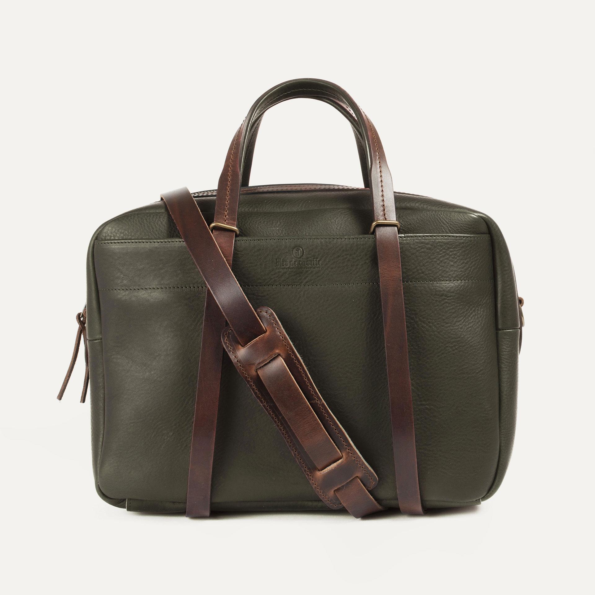 Report Business bag - Khaki (image n°1)