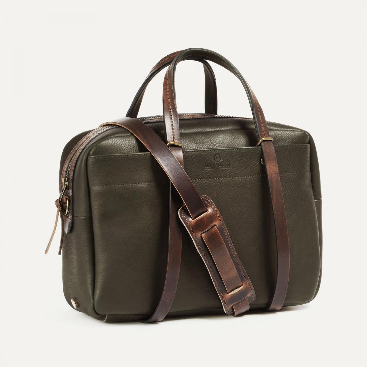 Report Business bag - Khaki (image n°2)