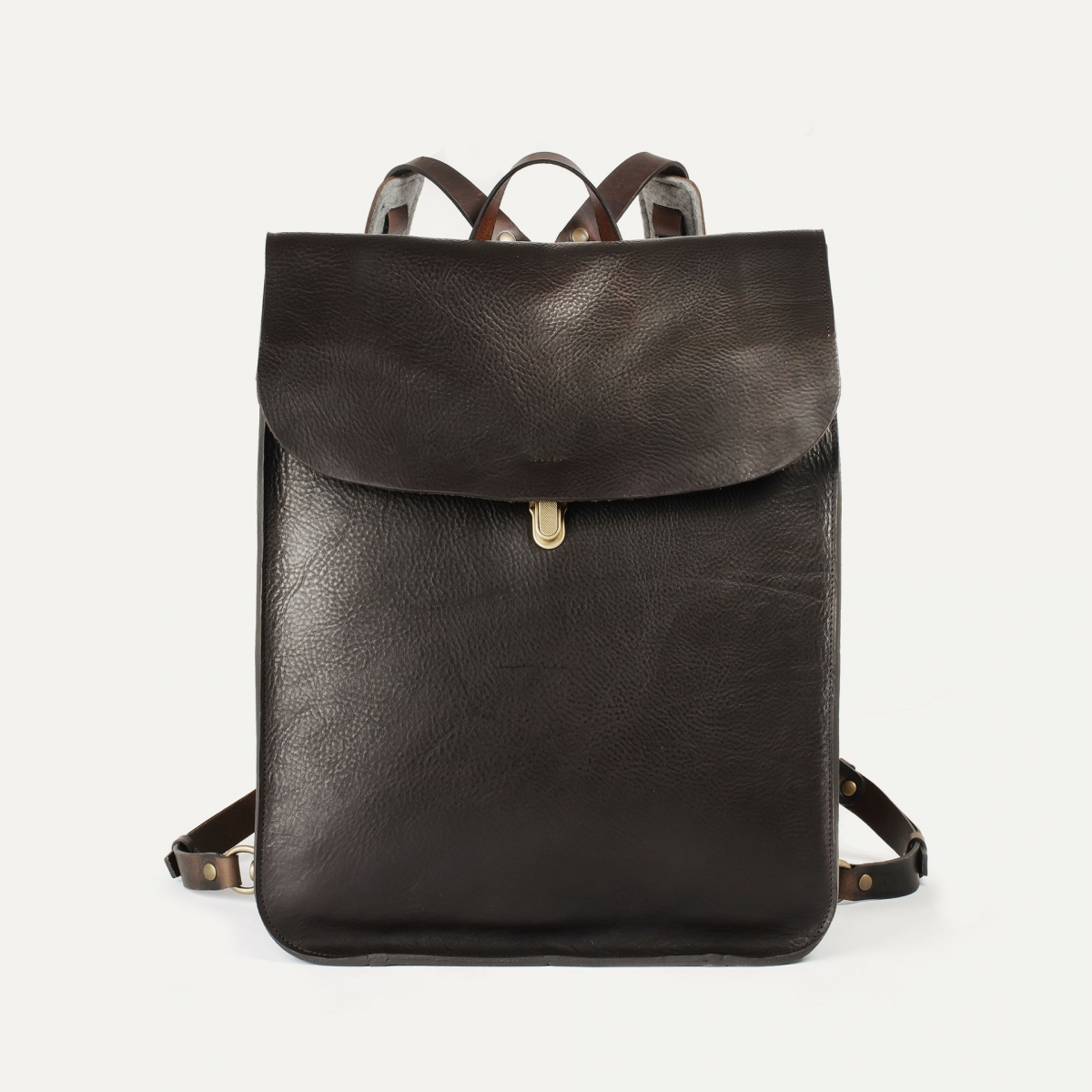 Arlo leather backpack - T Moro / E Pure (image n°1)