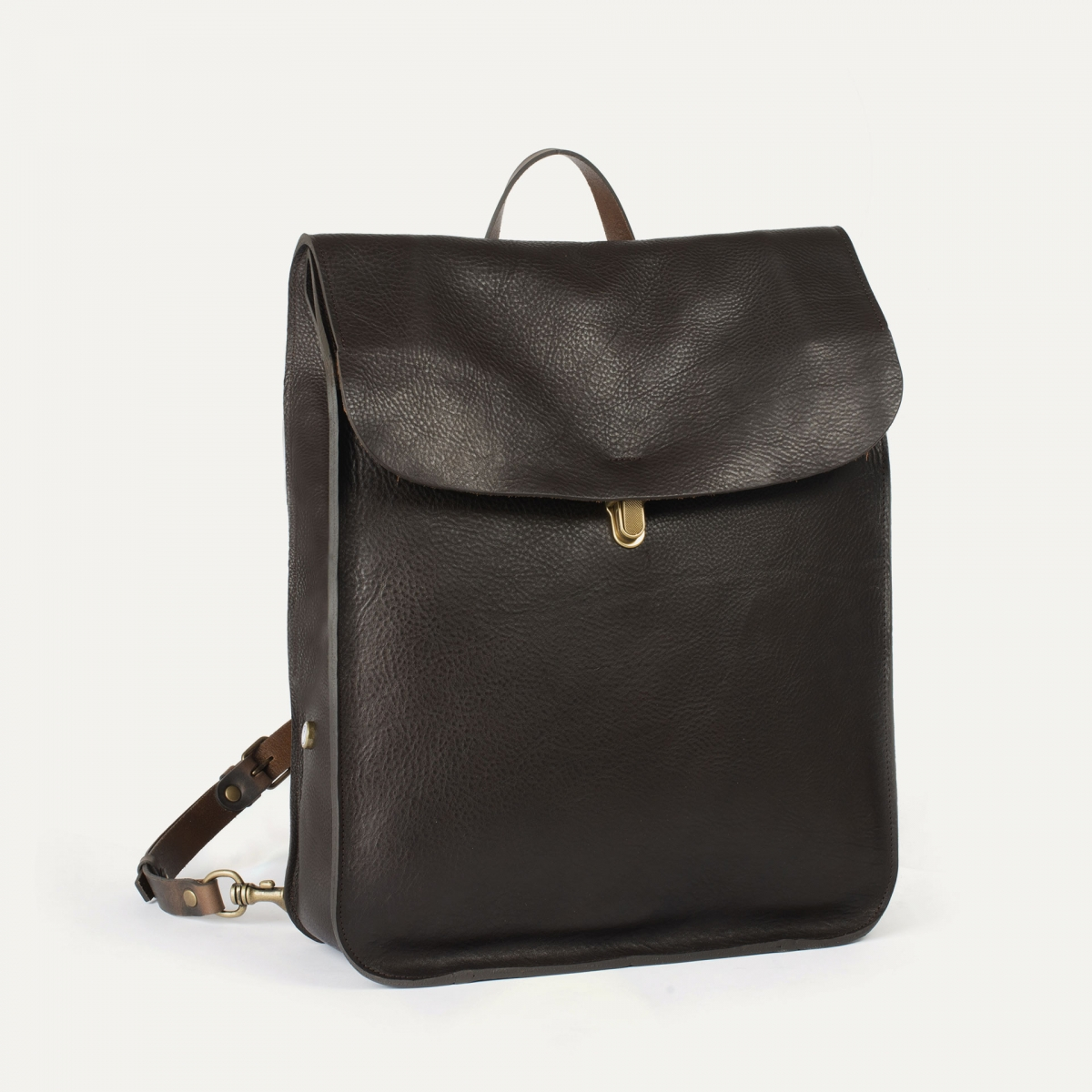 Arlo leather backpack - T Moro / E Pure (image n°2)