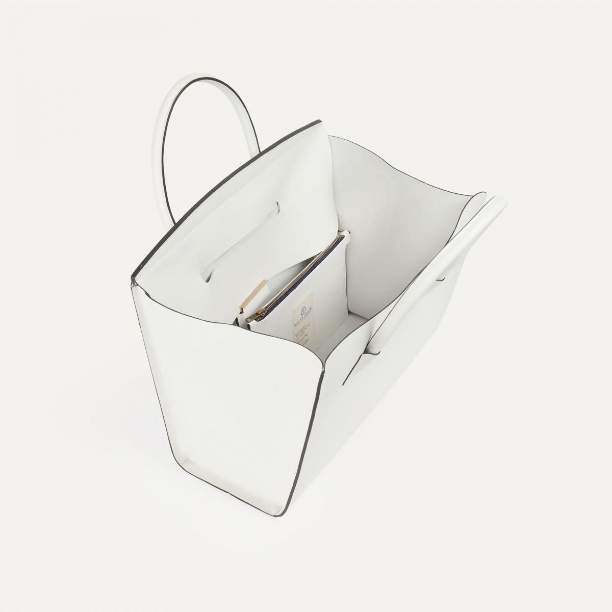 Origami L Tote - White (image n°3)