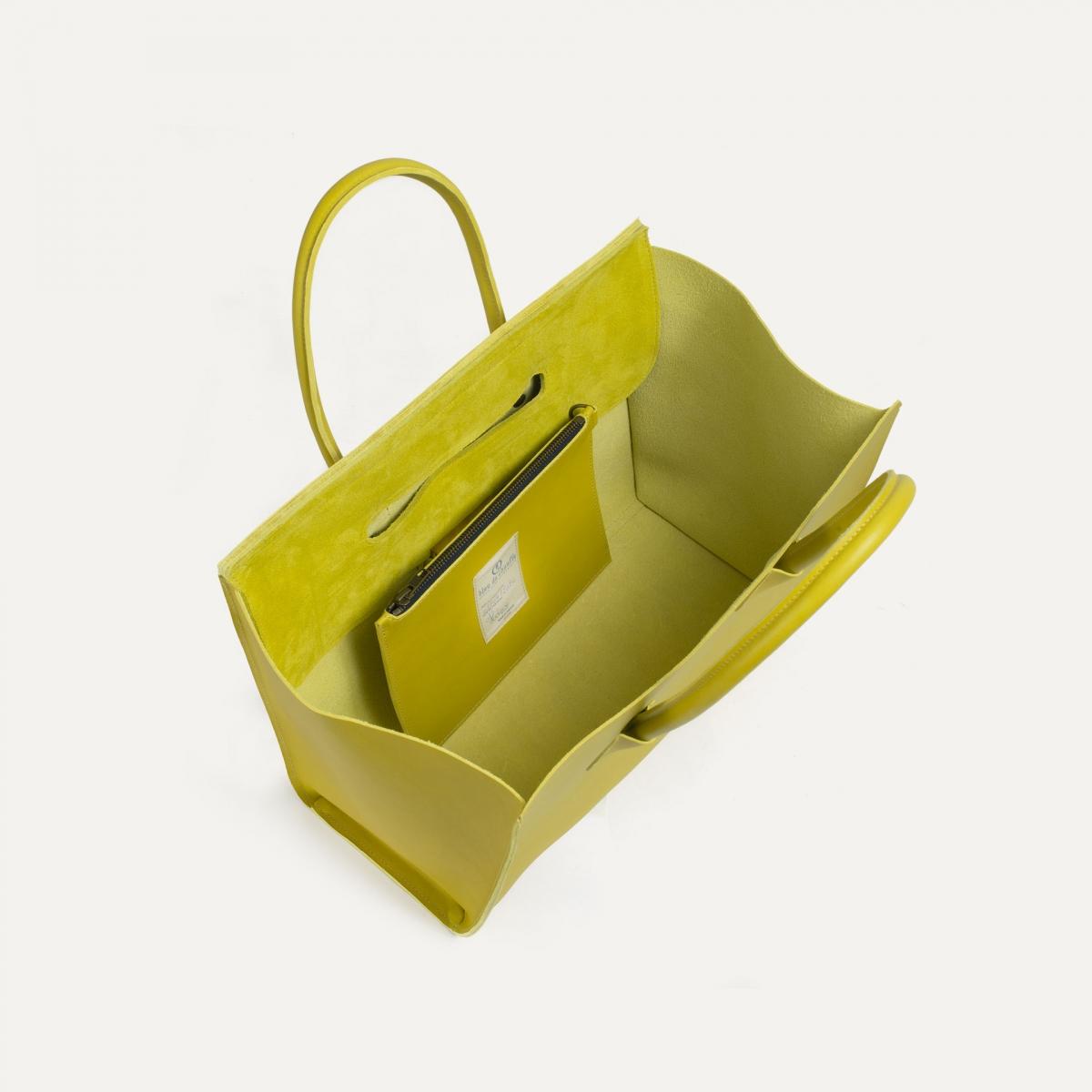 Cabas Origami L - Bergamote (image n°4)