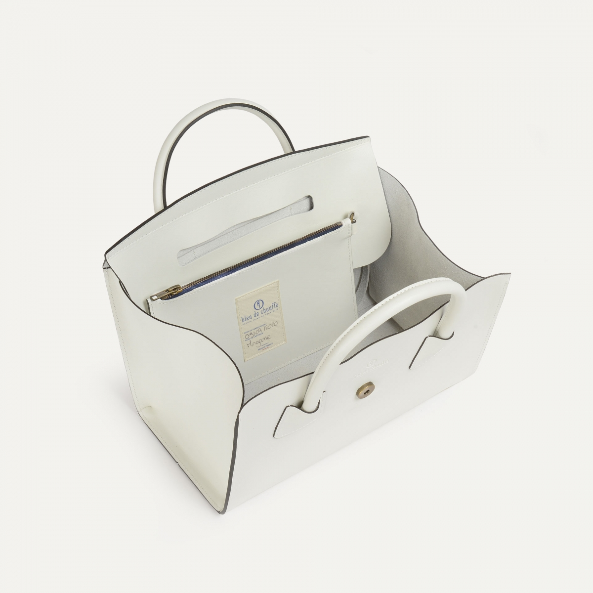 Cabas Origami M - Blanc (image n°3)