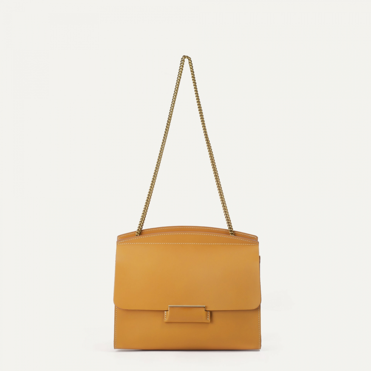 Origami S clutch bag - Honey (image n°1)