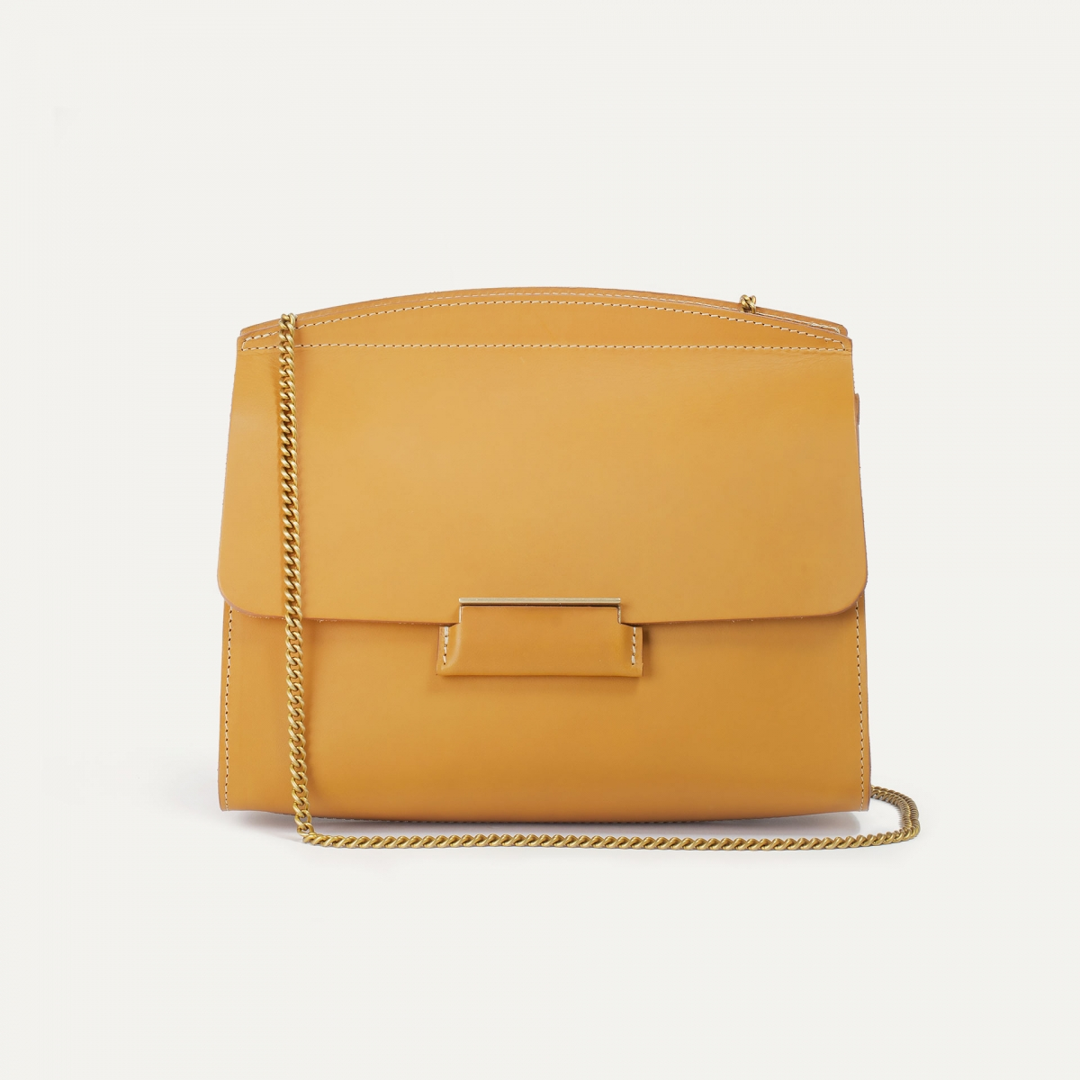 Origami S clutch bag - Honey (image n°2)
