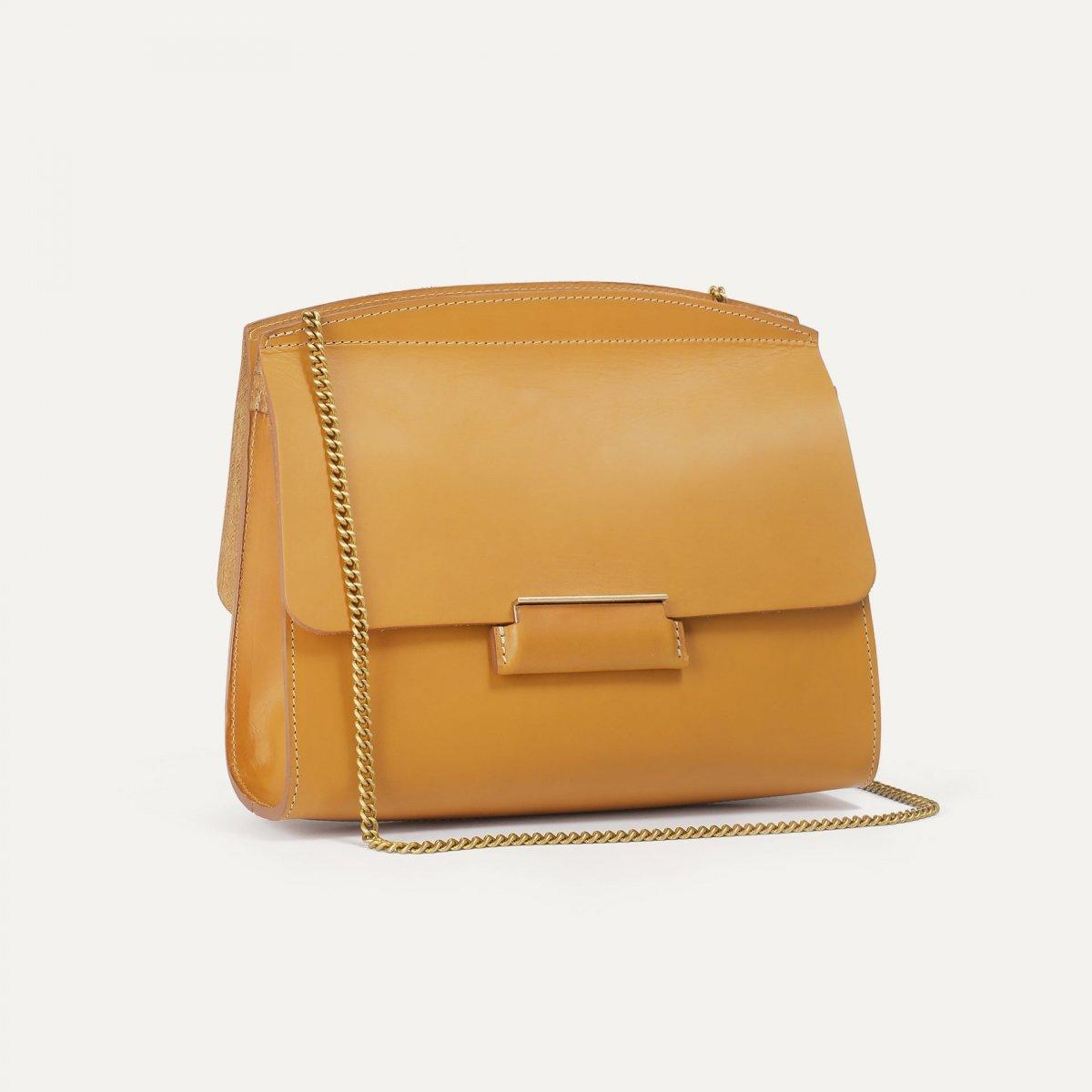 Origami S clutch bag - Honey (image n°3)