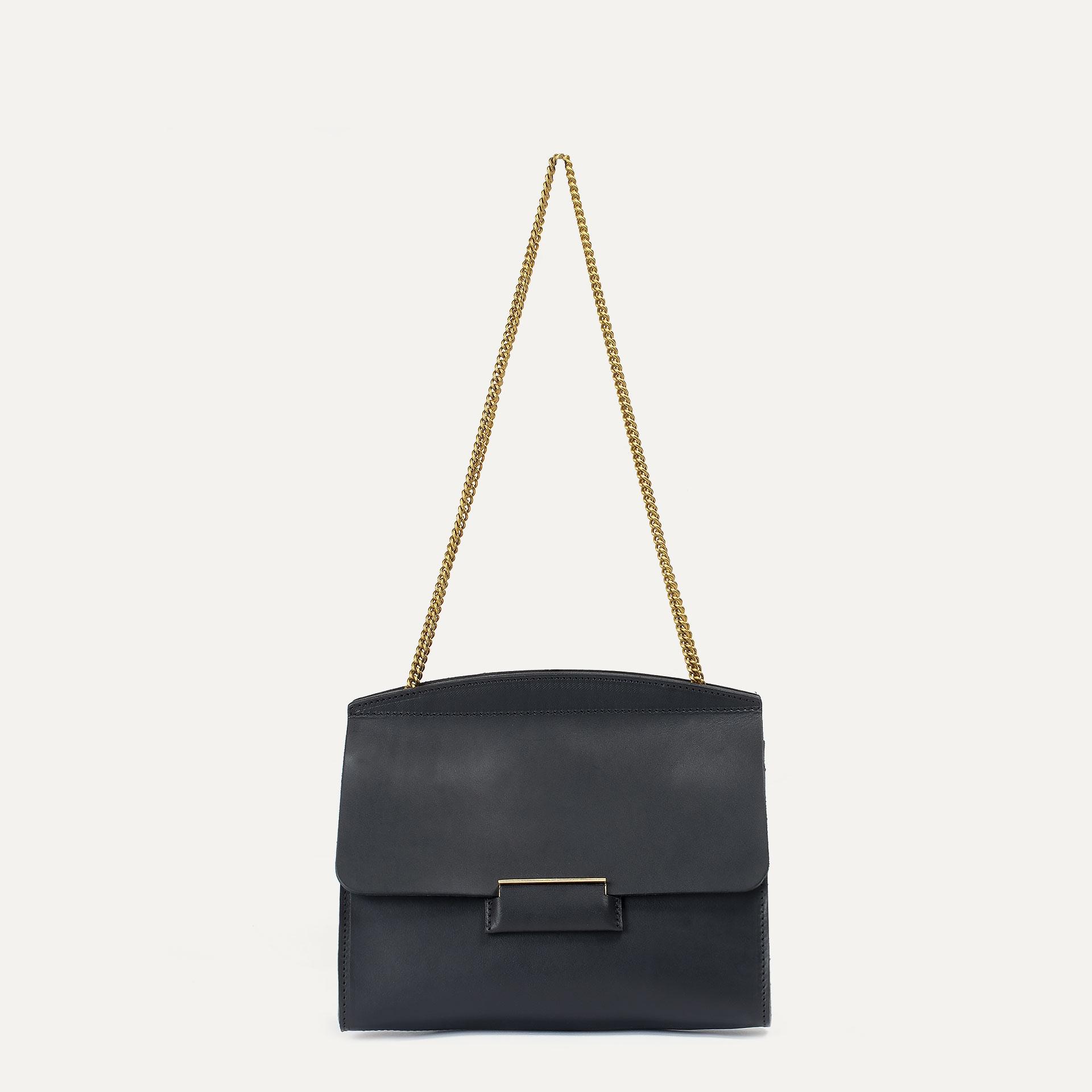 Origami S clutch bag - Black (image n°1)