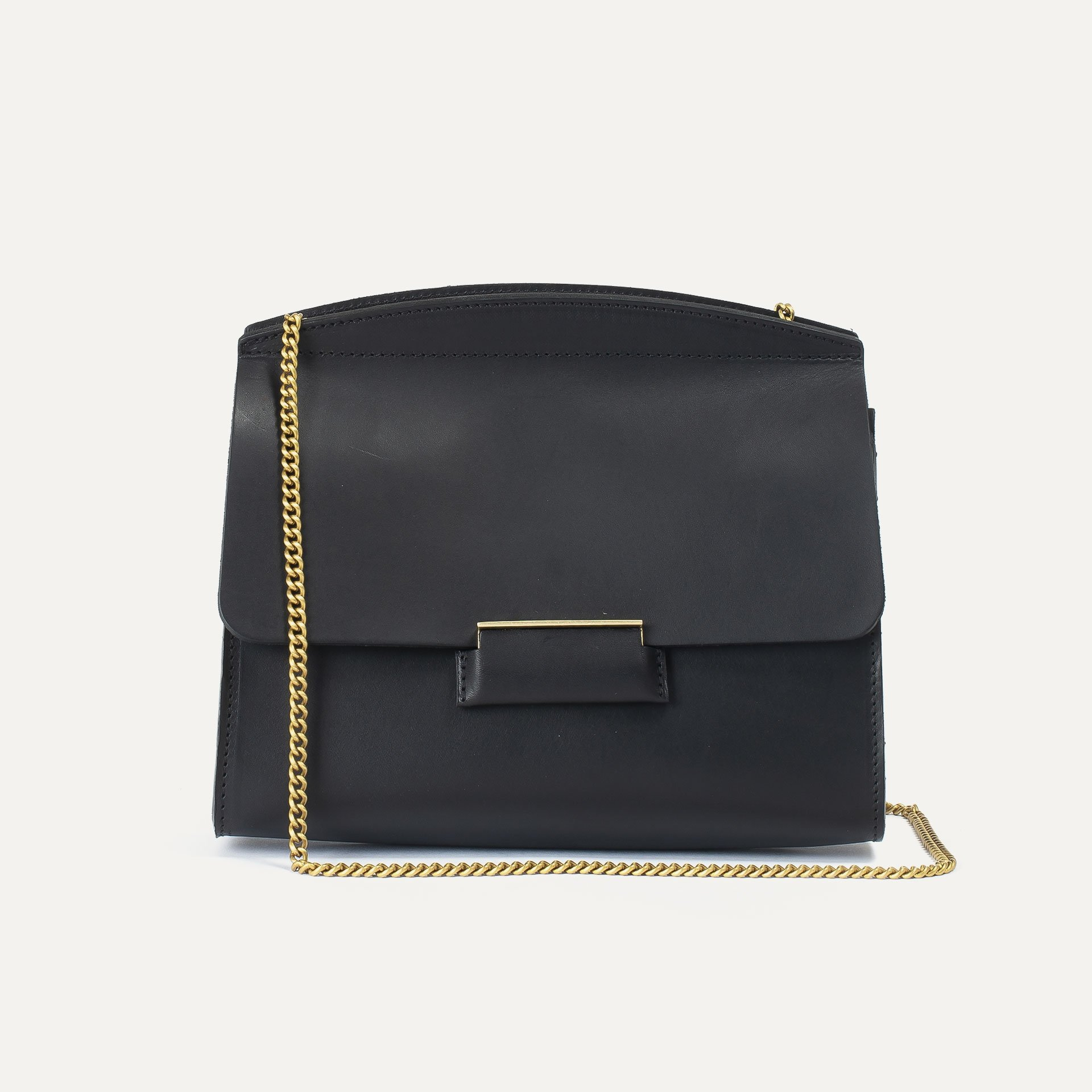 Origami S clutch bag - Black (image n°2)