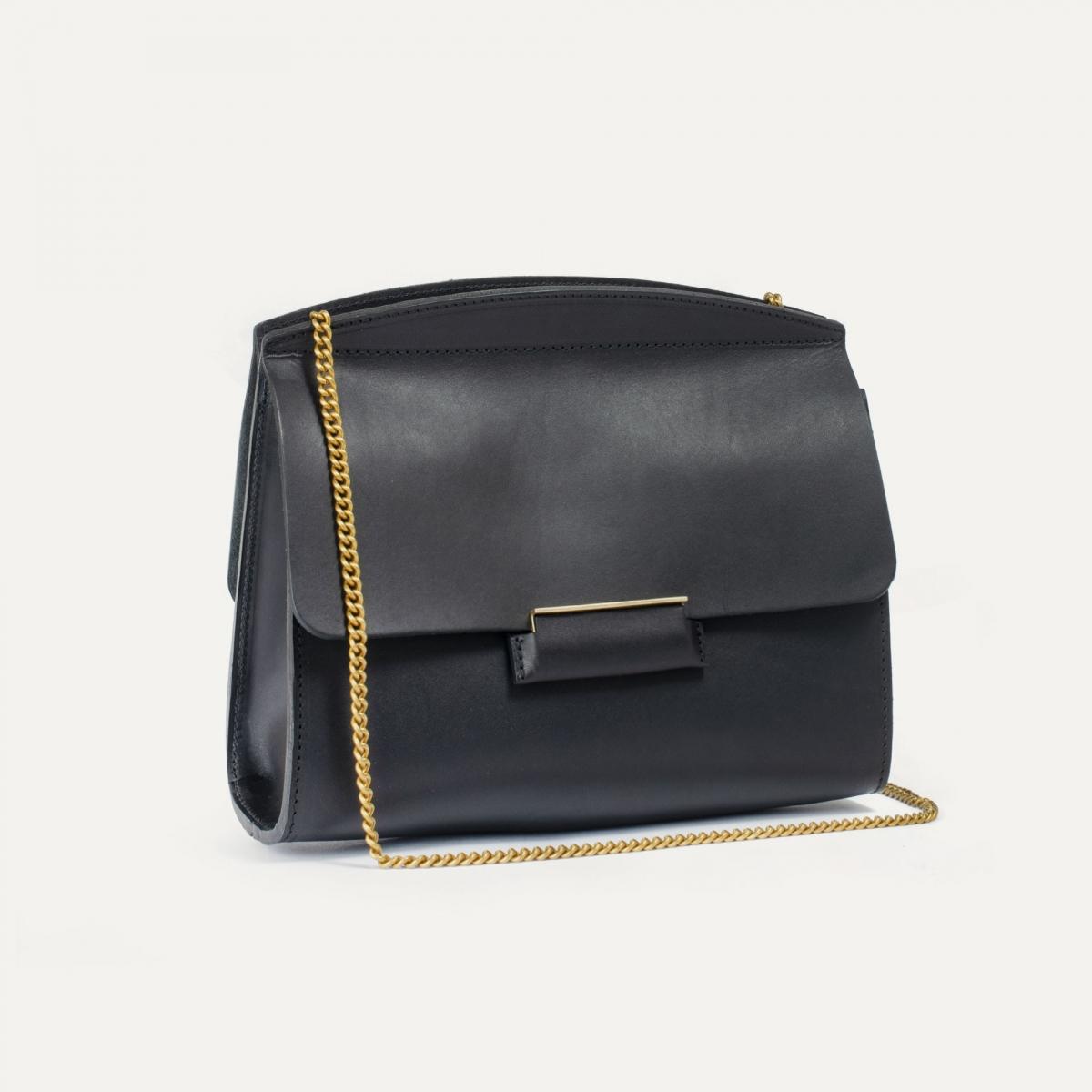 Origami S clutch bag - Black (image n°3)
