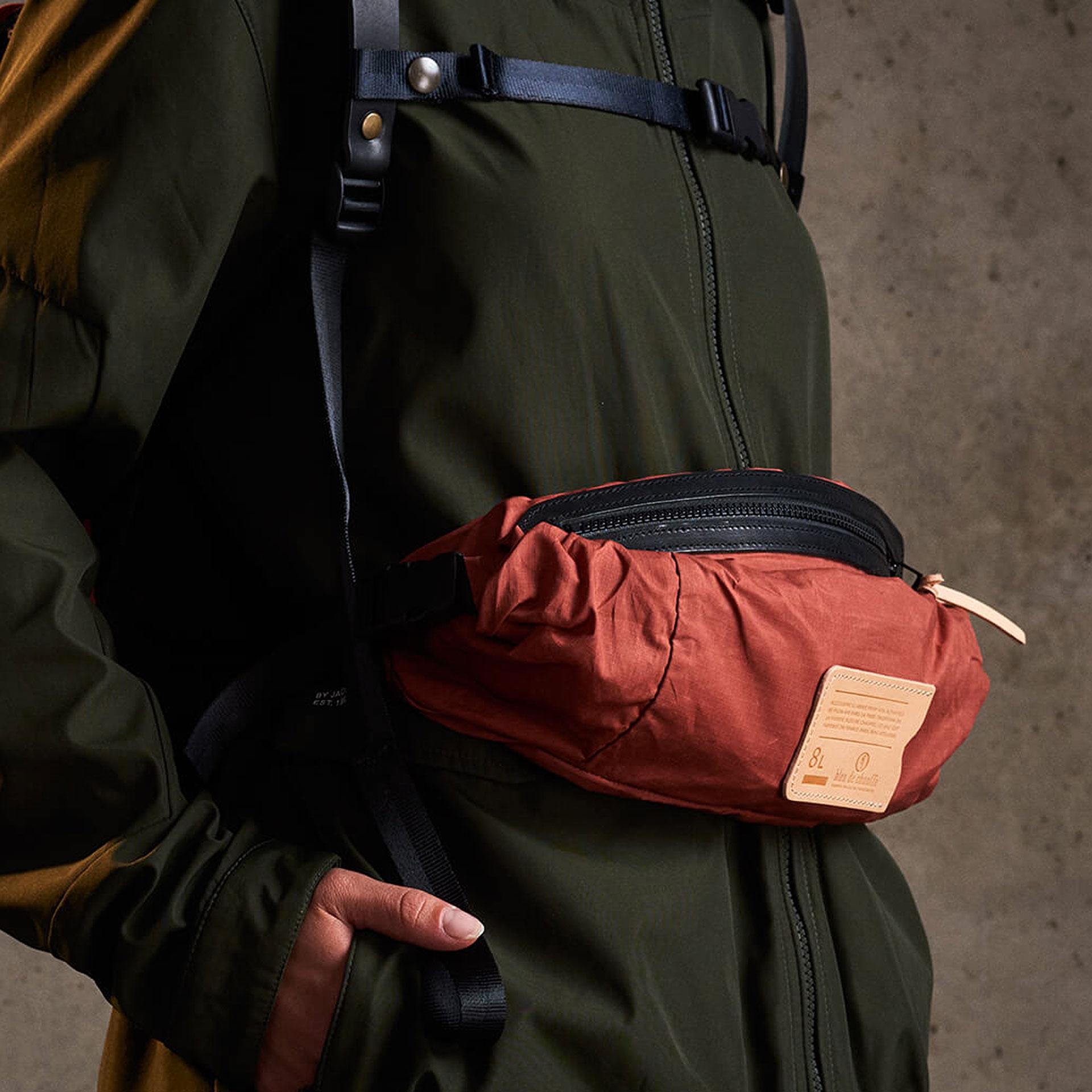 8L Bastille Belt bag - Burgundy (image n°5)
