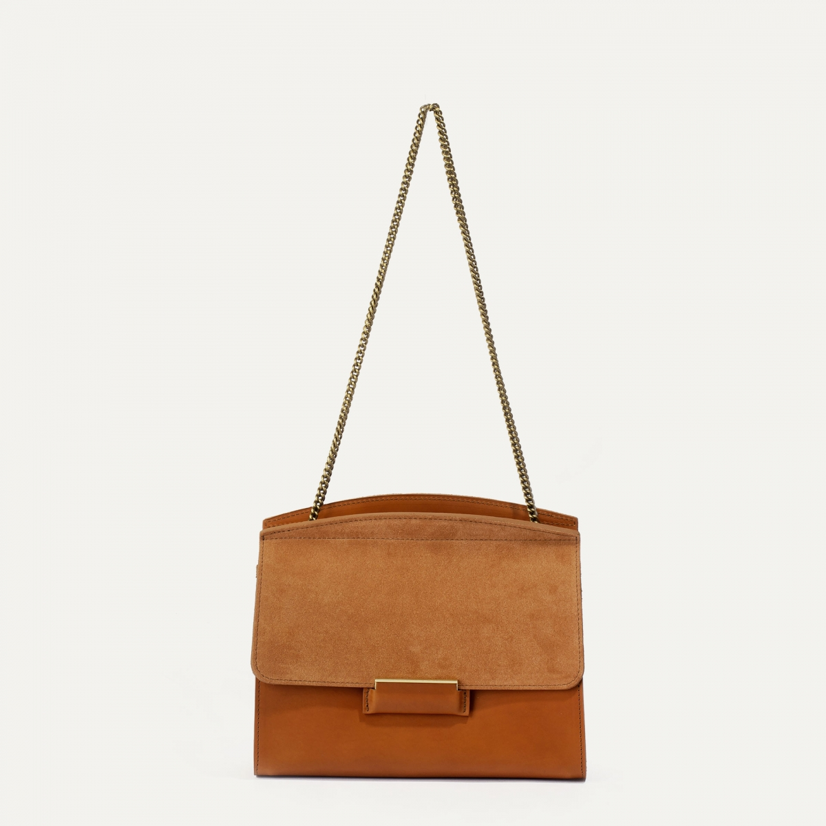 Origami S clutch bag - Havana (image n°1)