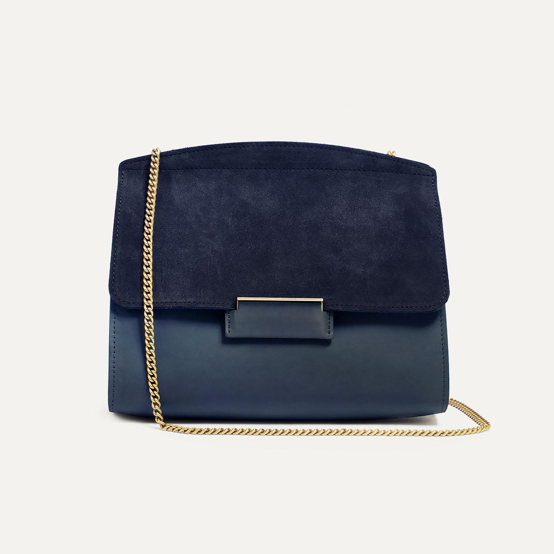 Origami S clutch bag - Marine Blue (image n°2)