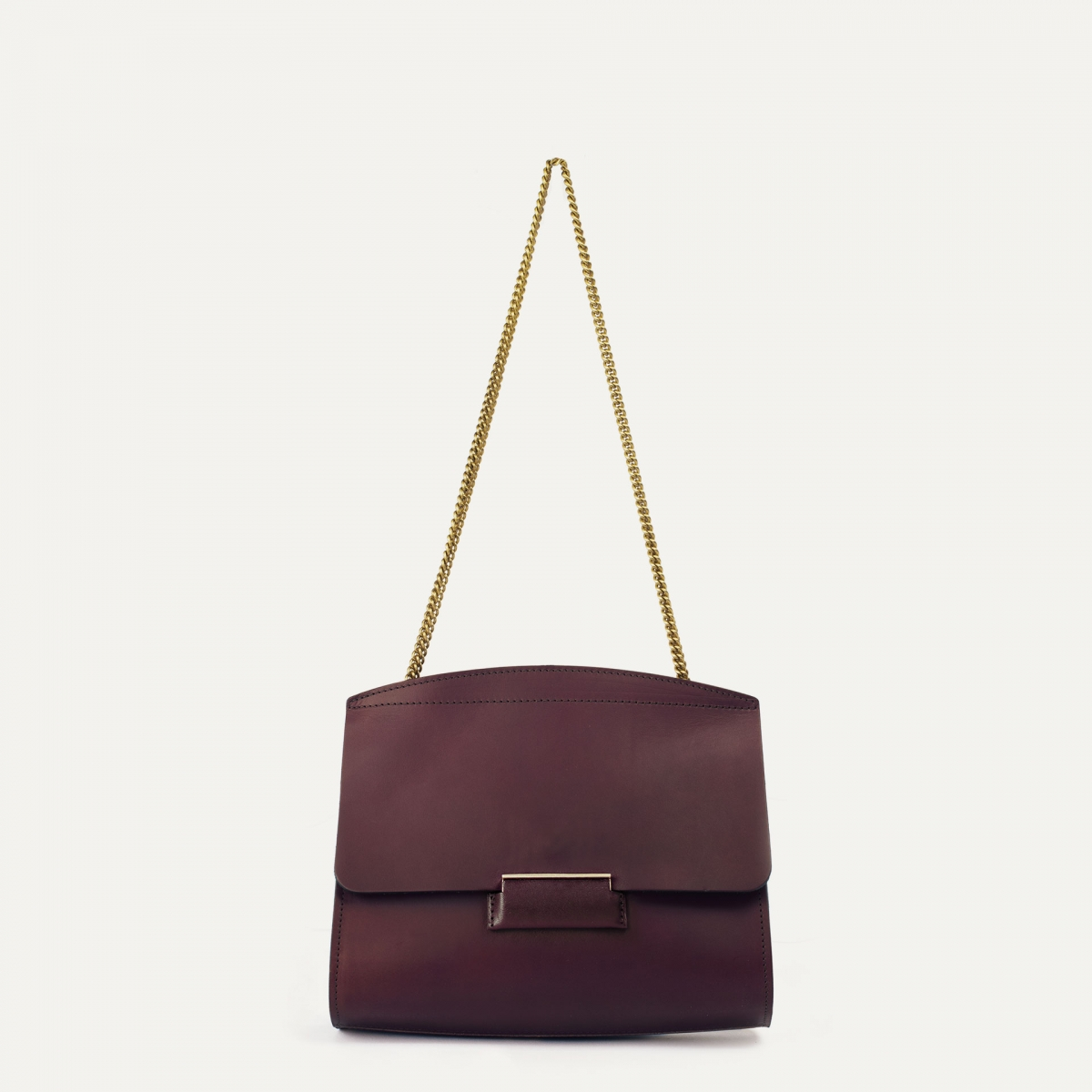 Origami S clutch bag - Peat (image n°1)