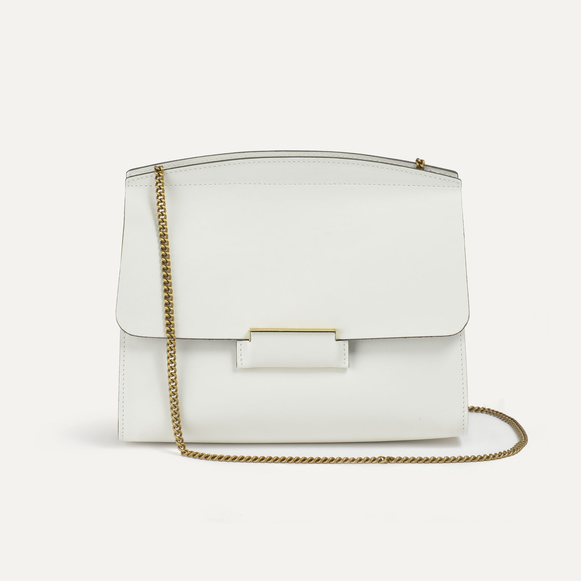 Origami S clutch bag - White (image n°2)