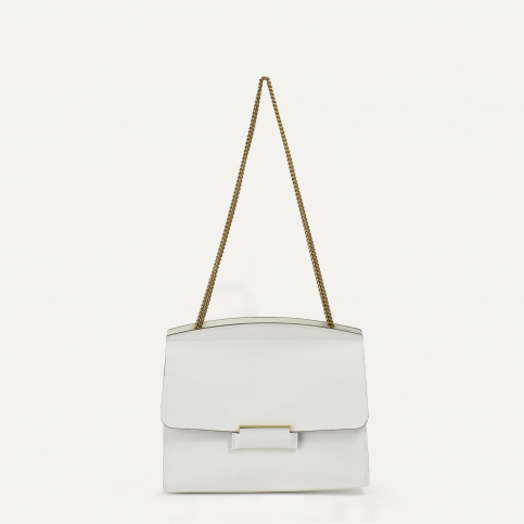 Origami S clutch bag - White