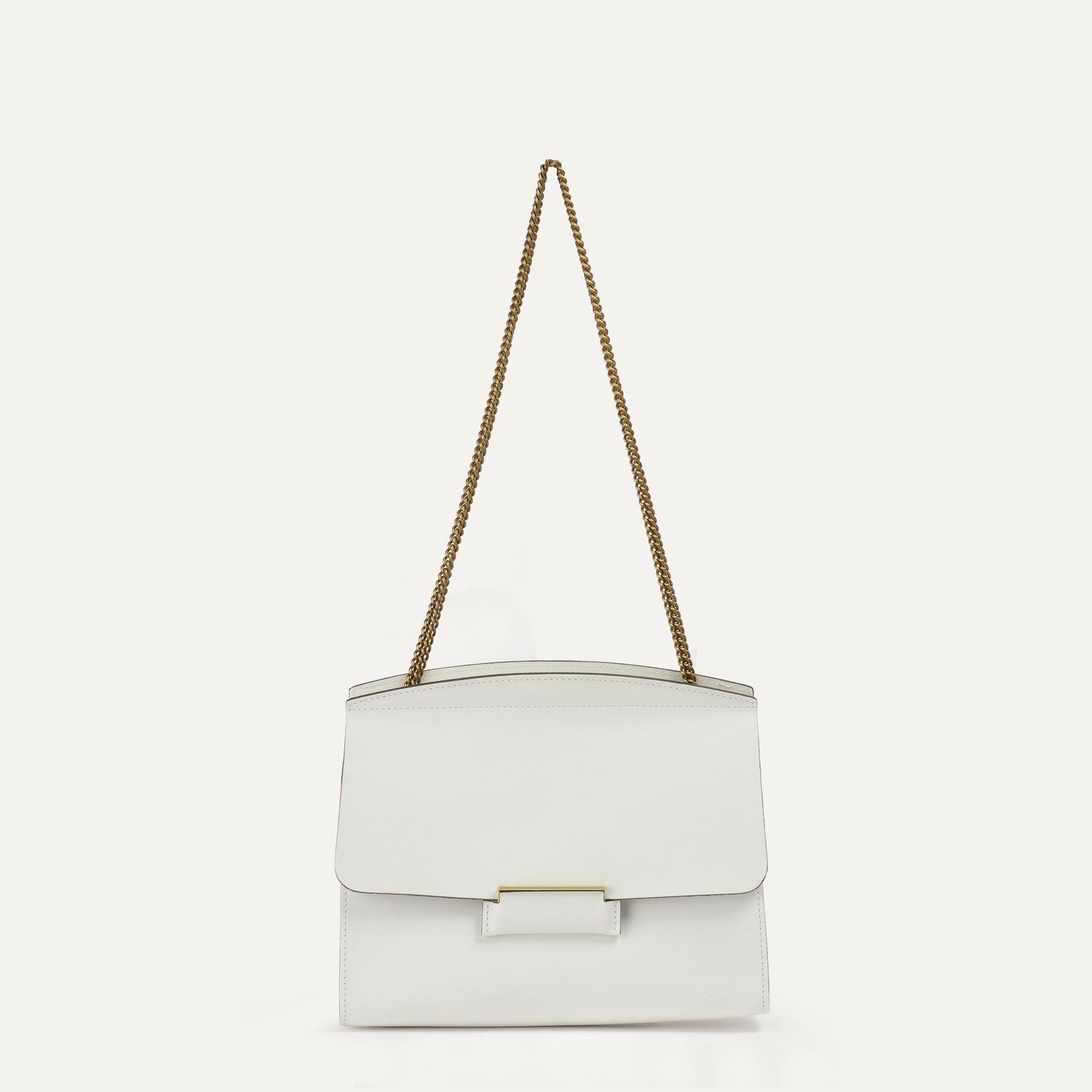 Origami S clutch bag - White (image n°1)