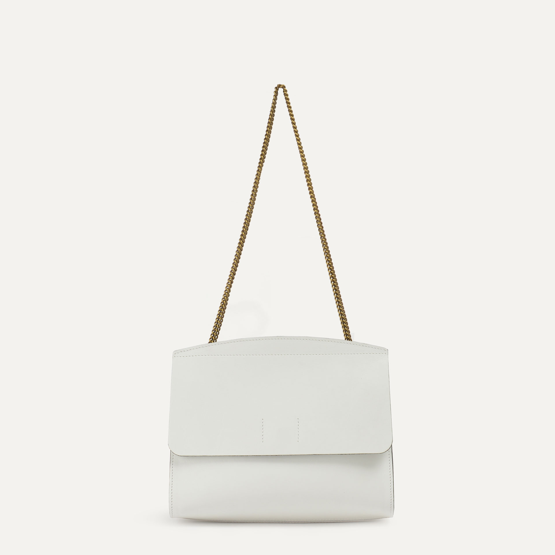 Origami S clutch bag - White (image n°3)