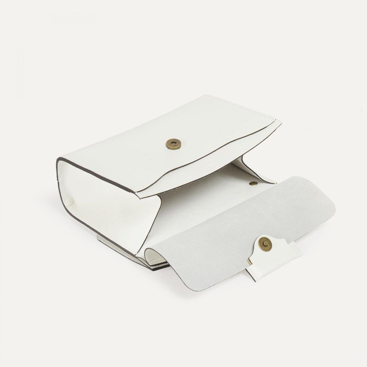 Origami S clutch bag - White (image n°4)
