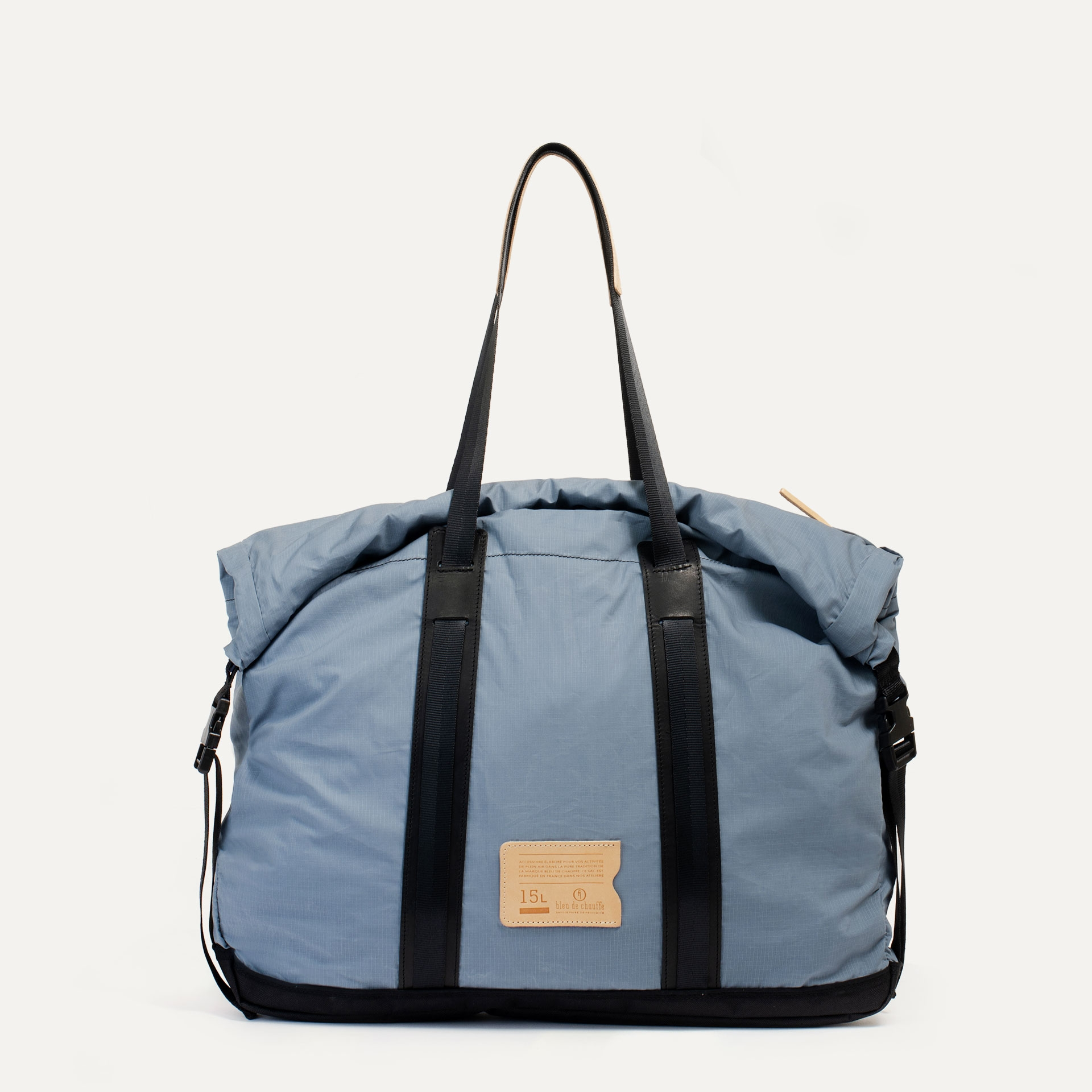 15L Barda Tote bag - blue grey (image n°1)