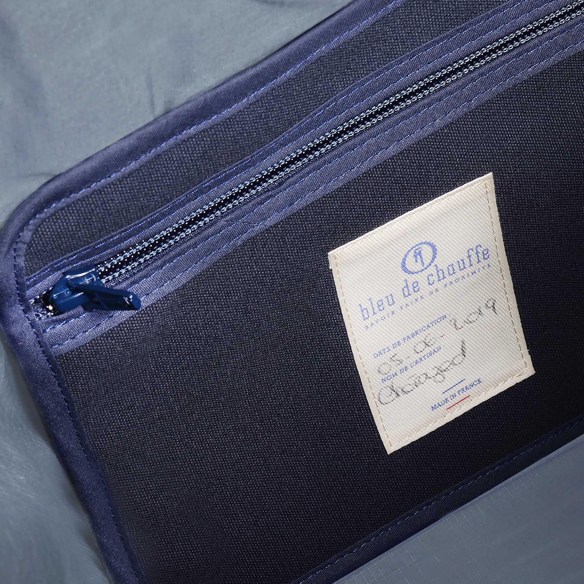 15L Barda Tote bag - blue grey (image n°4)