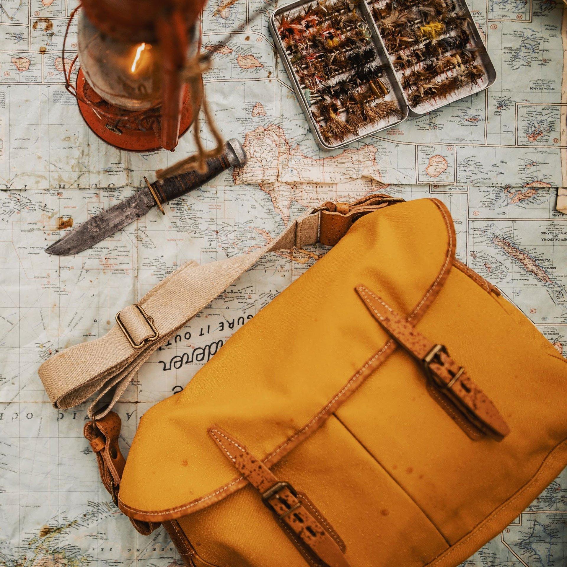 Fisherman's Musette M - Yellow ochre (image n°5)