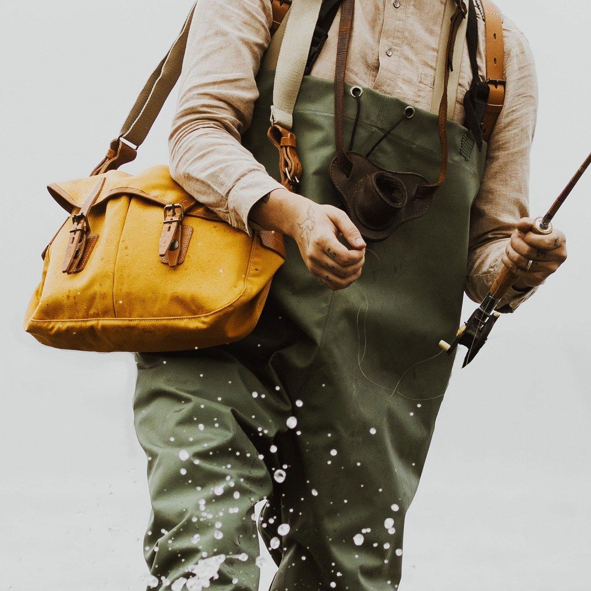 Musette du Pêcheur M - Ocre Jaune (image n°6)