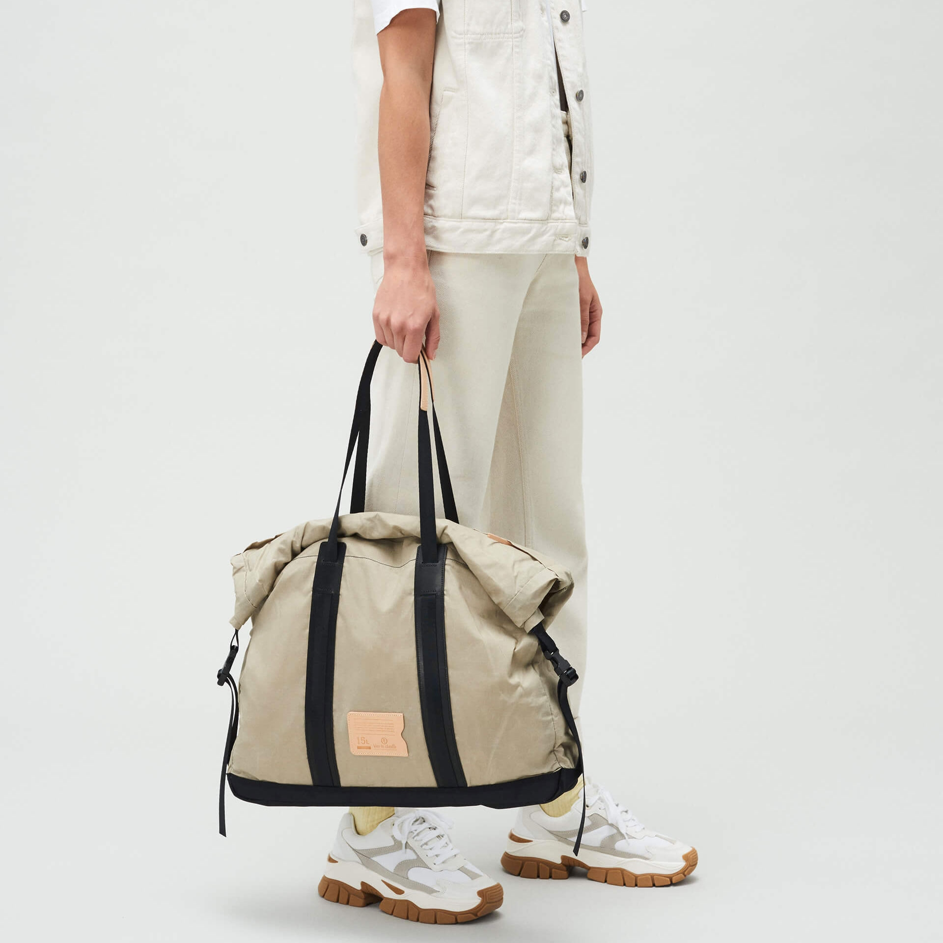 15L Barda Tote bag - Beige (image n°5)